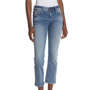 Hudson Crop Ginny Straight Leg Jeans